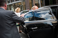 Roger Ailes leaving the News Corporation building earlier this week.