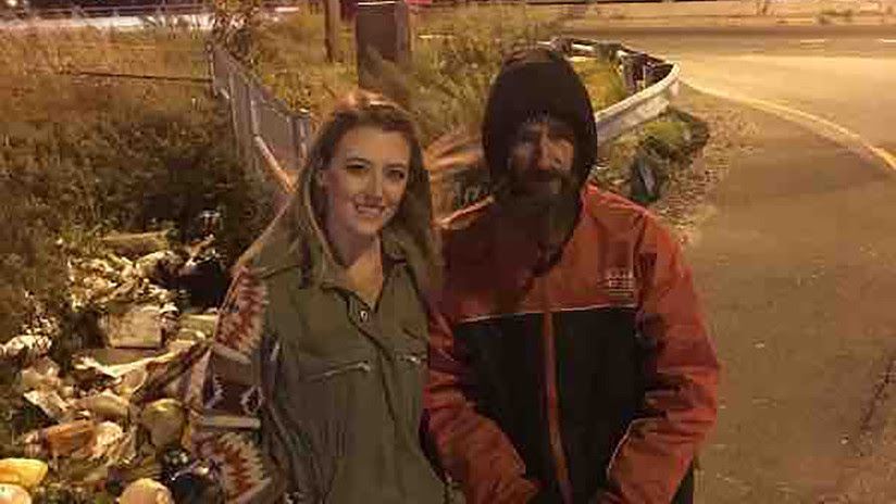 El inesperado final de la historia del mendigo que recaudó 400.000 dólares tras ayudar a una chica