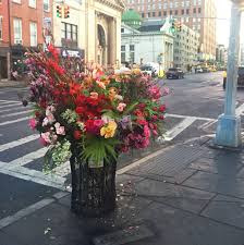 Meet The Florist-Bandit Who's Been Stealthily Beautifying New York's Public  Spaces   Vogue