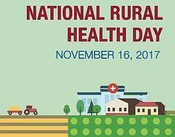 National Rural Health Day November 16, 2017