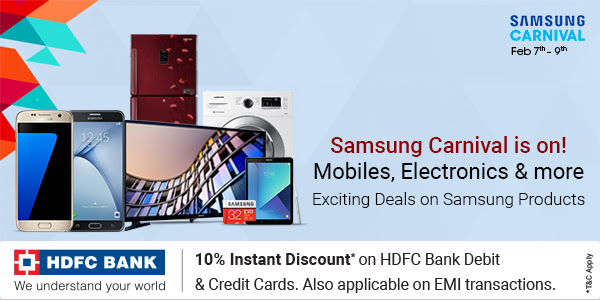 Samsung is celebrating with us. Explore the Offers