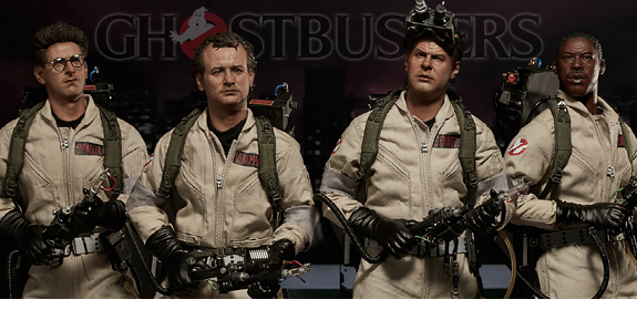 1/6 SCALE GHOSTBUSTERS FIGURES