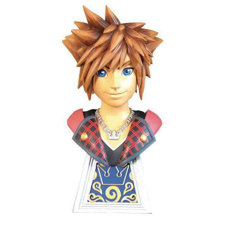 Image of Kingdom Hearts Legends in 3D Sora 1/2 Scale Limited Edition Bust - APRIL 2019