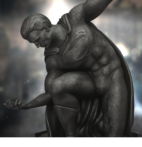 Batman v Superman Master Craft MC-040 Dawn of Justice Memorial Limited Edition Statue
