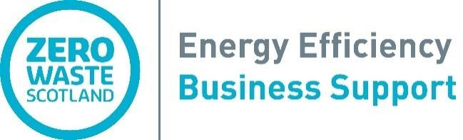 Logo for Zero Waste Scotland - Energy Efficiency Business Support