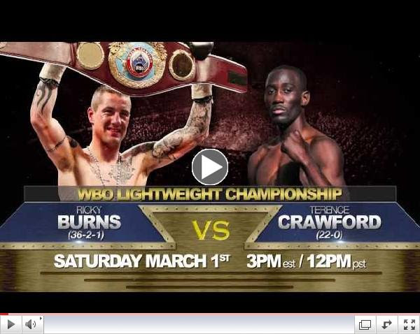 AWE's Fight Night Presents Terence Crawford vs. Ricky Burns