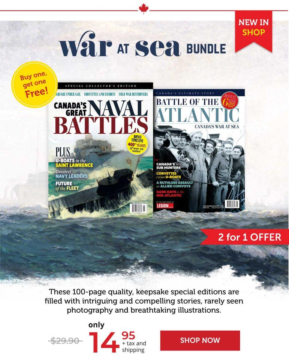 War at sea bundle— Buy one, get one FREE!