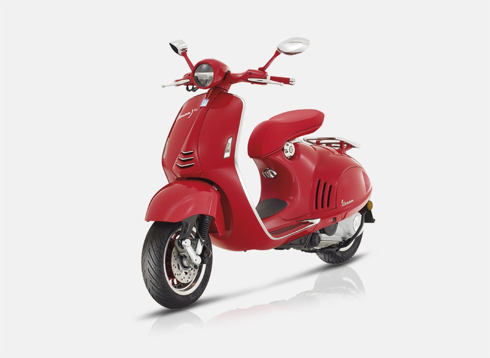 Image result for red vespa