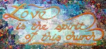 Image result for love is the spirit of this church