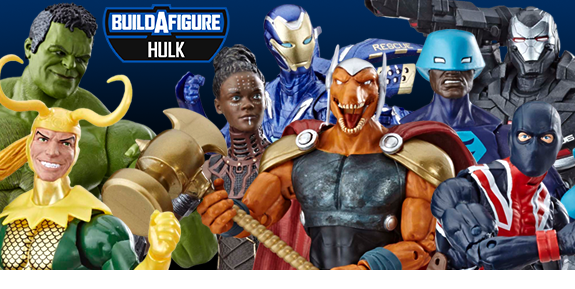 AVENGERS: ENDGAME MARVEL LEGENDS WAVE 2 BAF HULK