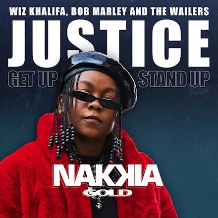Cover single Nakkia Gold, Wiz Khalifa, Bob Marley & The Wailers