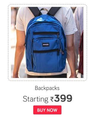 Branded Backpacks- Skybags, Safari & more