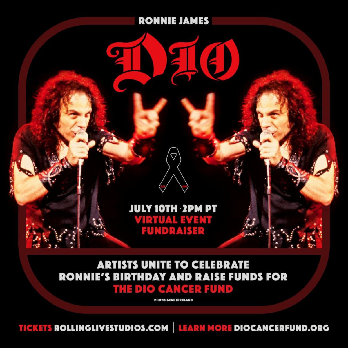 Rolling Live Studios / Ronnie James Dio Stand Up and Shout Cancer Fund