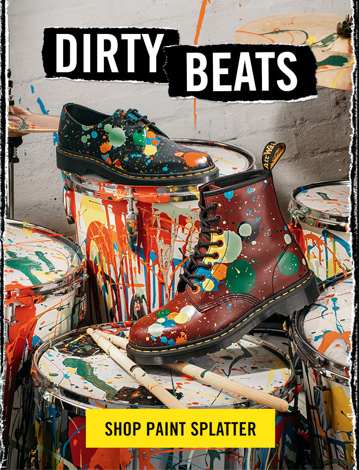 Dirty Beats - Shop Paint Splatter