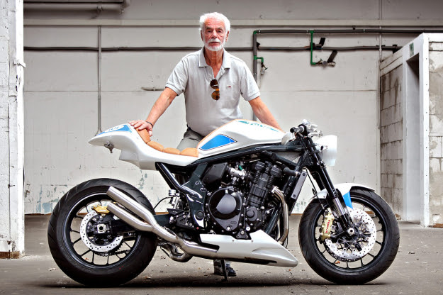Suzuki Bandit 1250 customized by Daniel Händler and Hans Muth
