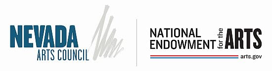 Nevada Arts Council and National Endowment for the Arts logos