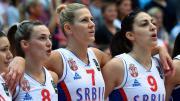 VIDEO. La joie des Serbes, victorieuses face aux Bleues en finale de l'Euro de basket