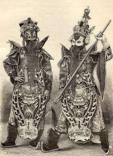 File:Costumes de théatre, à Hué chefs guerriers.jpg