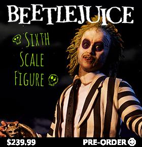 SIDESHOW 1/6 SCALE BEETLEJUICE