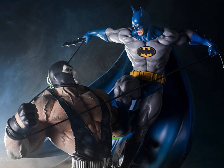 BATMAN VS BANE 1/6 SCALE DIORAMA