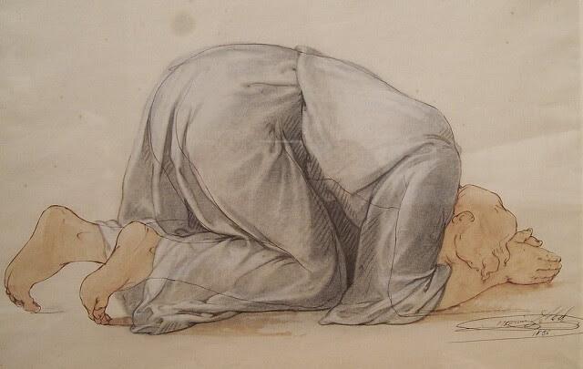 figure-in-prayer