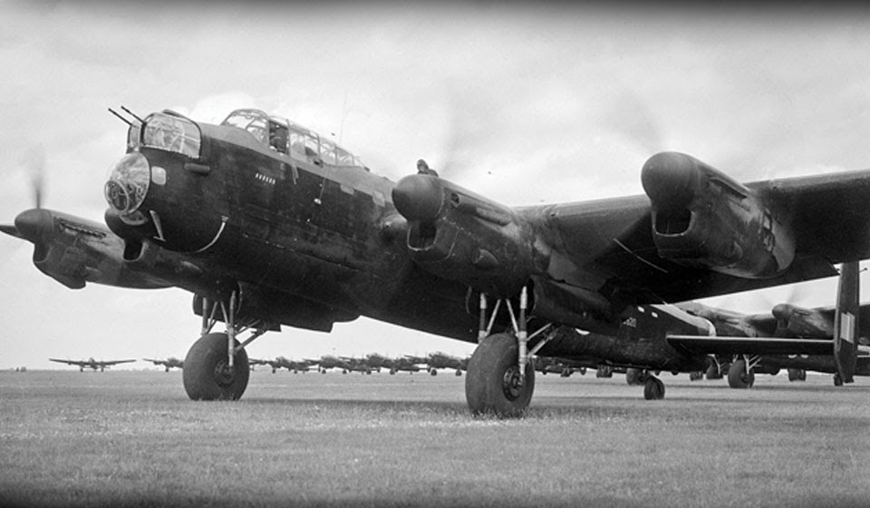 Mystery of the lucky Lancaster