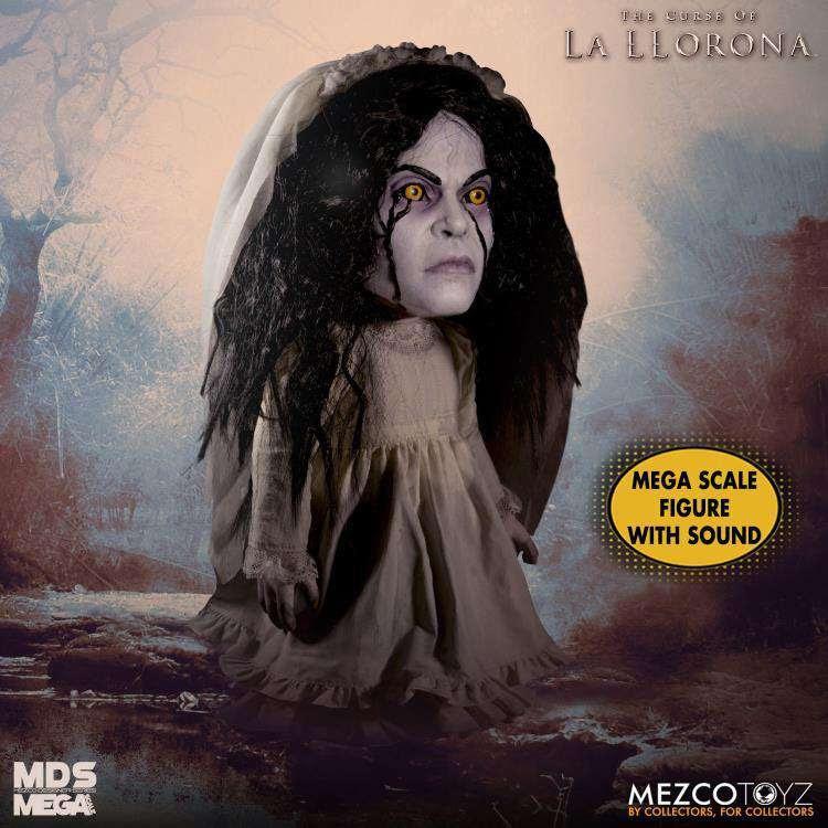 Image of The Curse of La Llorona Mezco Designer Series Mega Scale Talking La Llorona