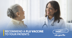 Make a Strong Flu Vaccine Recommendation