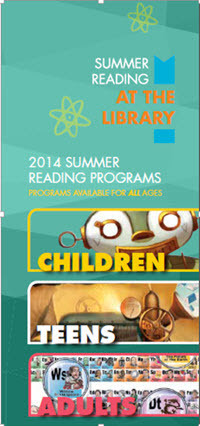 Summer Reading Program brochure