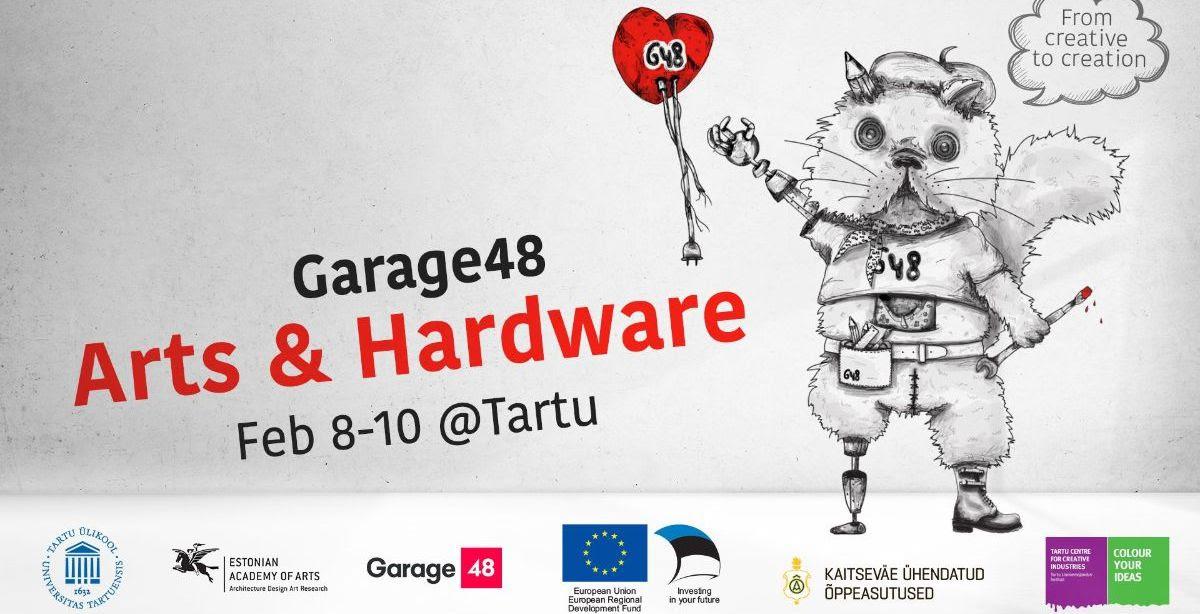 Garage48 Arts & Hardware 2019