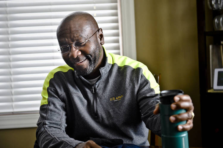 Wilmot Collins, a Liberian refugee, was elected mayor of Helena, Mont. (Thom Bridge/Independent Record/AP)