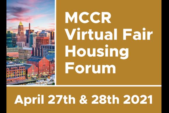 MCCR Fair Housing Forum Flyer Link