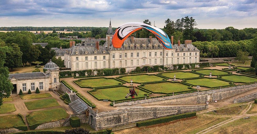 Blois paramotor festival
