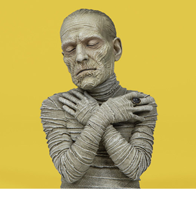 The Mummy (1932) Spinature Bust