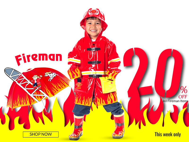 Calling all Firemen—20% OFF al...