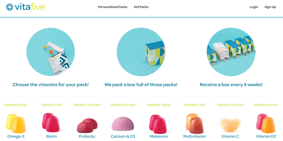best personalized vitamin subscriptions