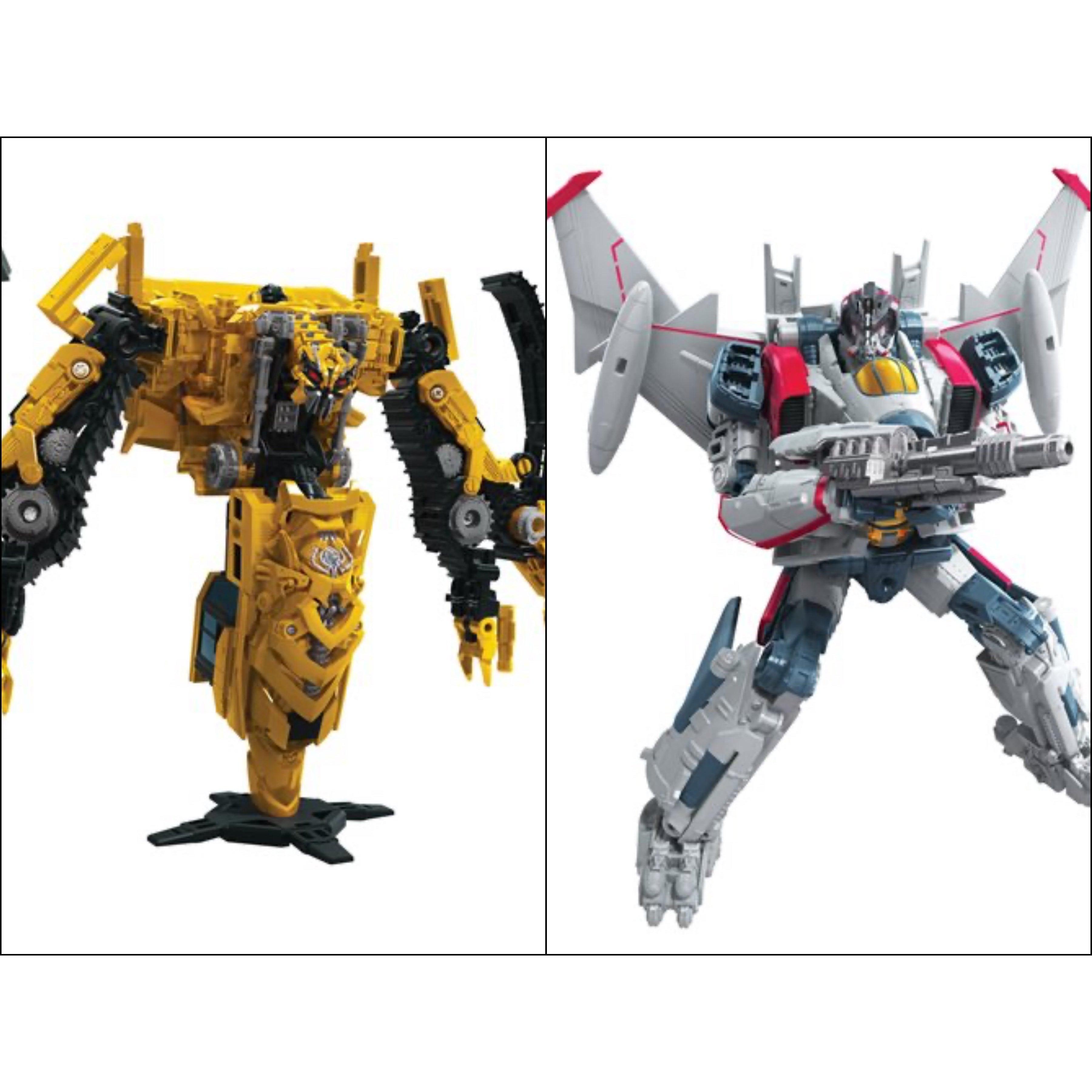 Image of Transformers Studio Series Premier Voyager Wave 10 - Set of 2 - AUGUST 2020