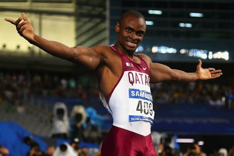 Femi Ogunode was the man to beat at the 2014 Asian Games. (Photo Credit: Getty Images)