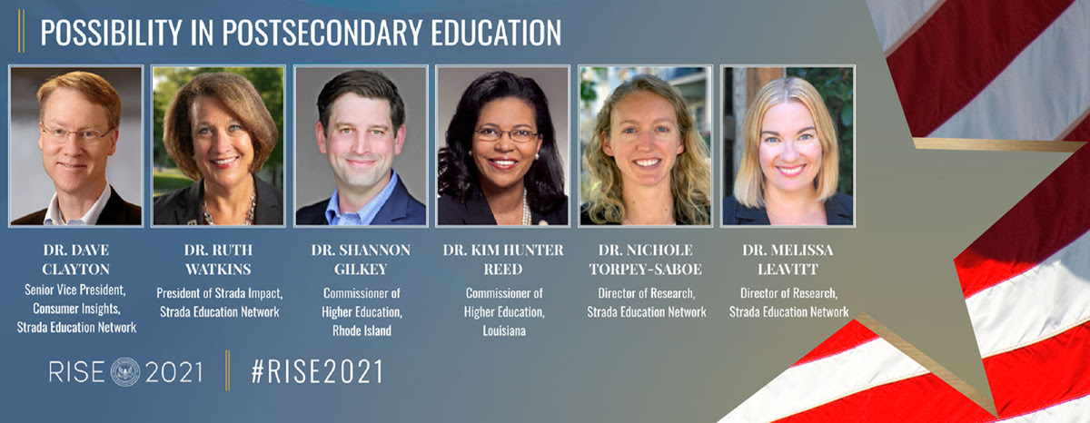 RISE 2021: Possibility in Postsecondary Panel