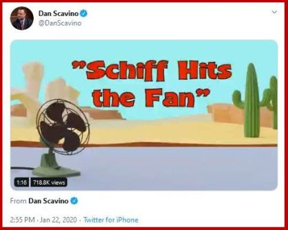 schiff fan tweet