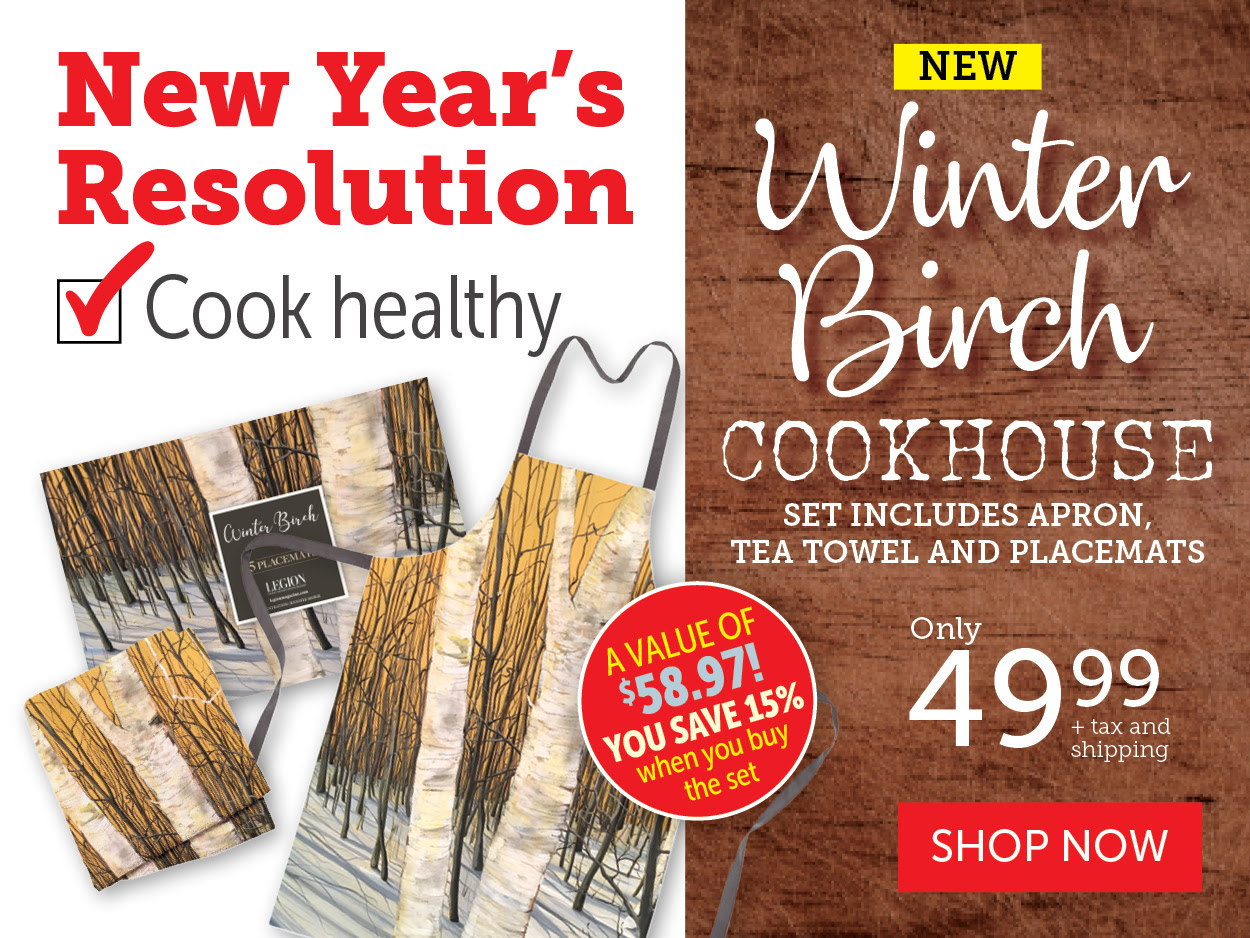 Winter Birch Cookhouse - New in store!