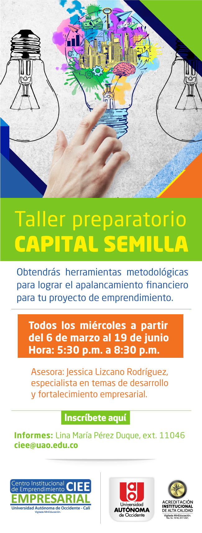 TALLER PREPARATORIO CAPITAL SEMILLA