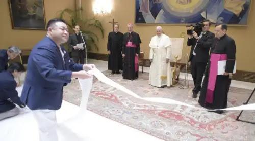 El Papa Francisco anuncia un posible viaje apostólico a Japón en 2019