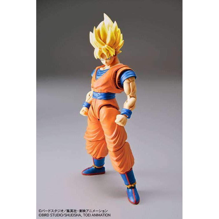Image of Dragon Ball Z Figure-rise Standard Super Saiyan Goku (New Packaging) Model Kit - AUGUST 2019