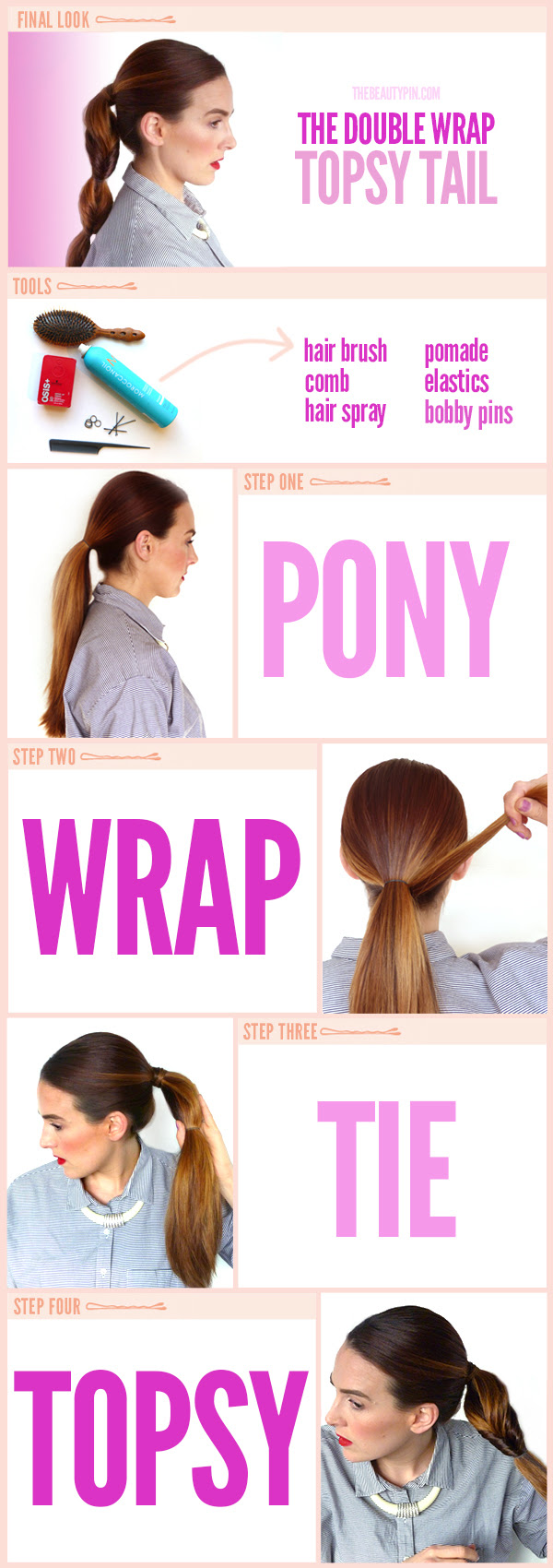 topsy ponytail tutorial