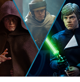 Star Wars Luke Skywalker (Return of the Jedi) Deluxe 1/6 Scale Figure