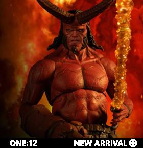 Hellboy (2019) One:12 Collective Hellboy (Anung un Rama Edition) PX Previews Exclusive