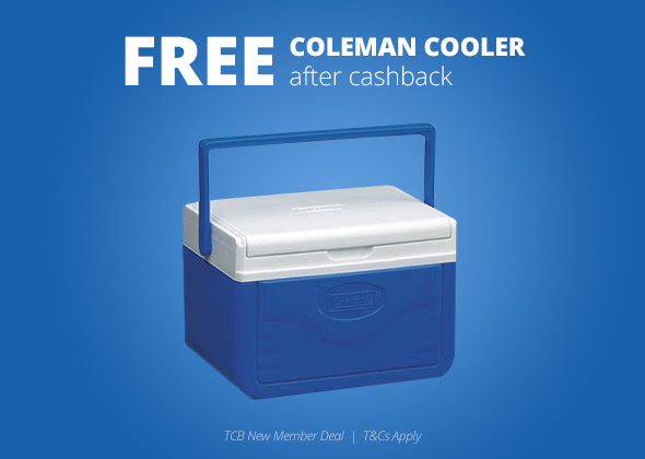 FREE Coleman Cooler...