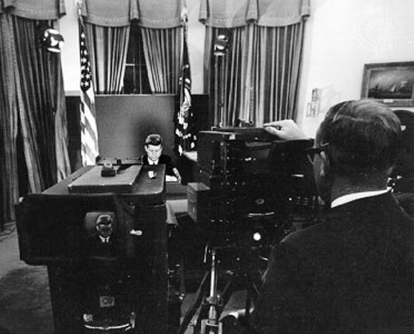 Kennedy habla por TV en la Crisis de Octubre