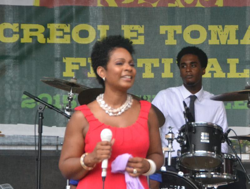 Stephanie Jordan - Creole Tomato Festival